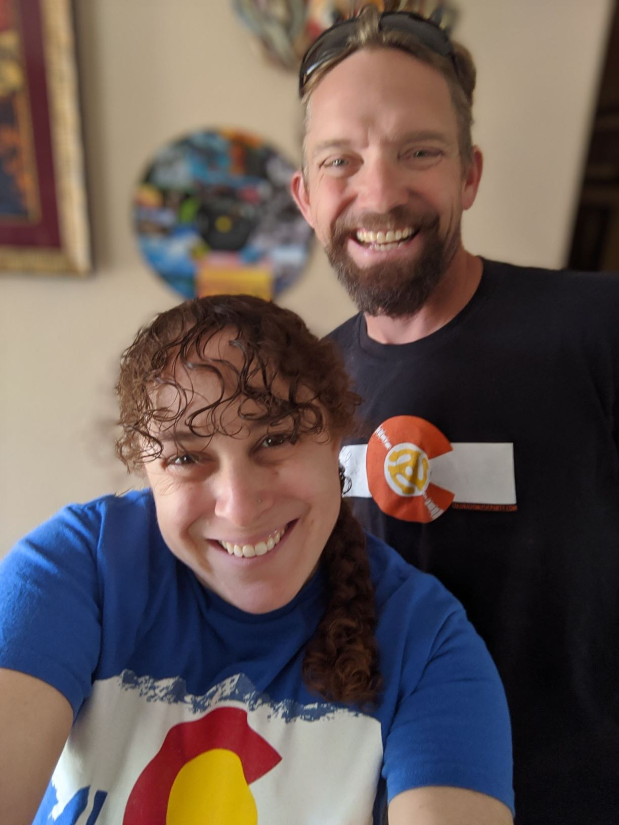 These are the radiant smiles of 2 Coloradans who just bought their first home!