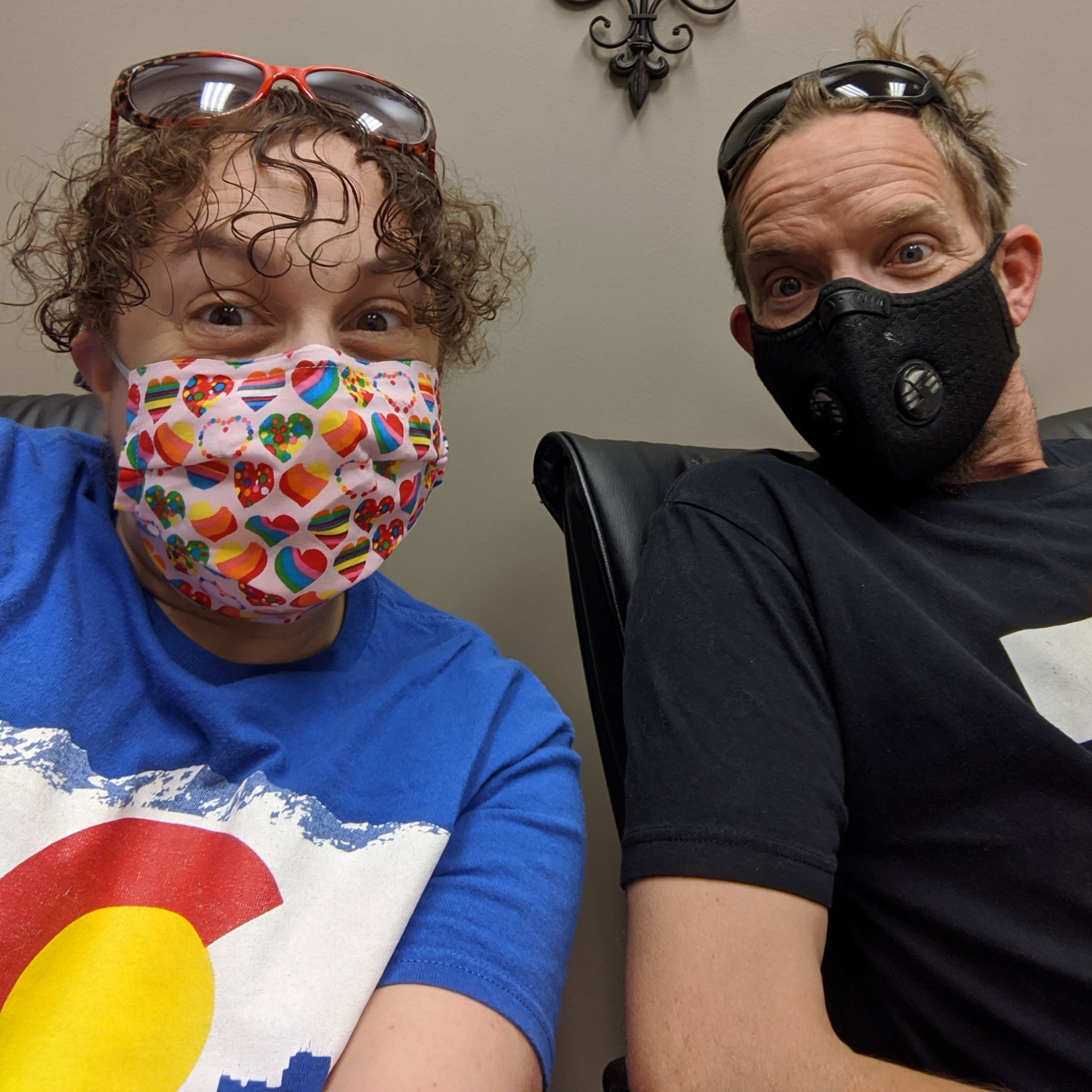 We're documenting our experiences buying and remodeling our first home. Just like the home improvement sector, real estate adopted public health rules to slow the spread of the coronavirus. We won't forget our masked closing!