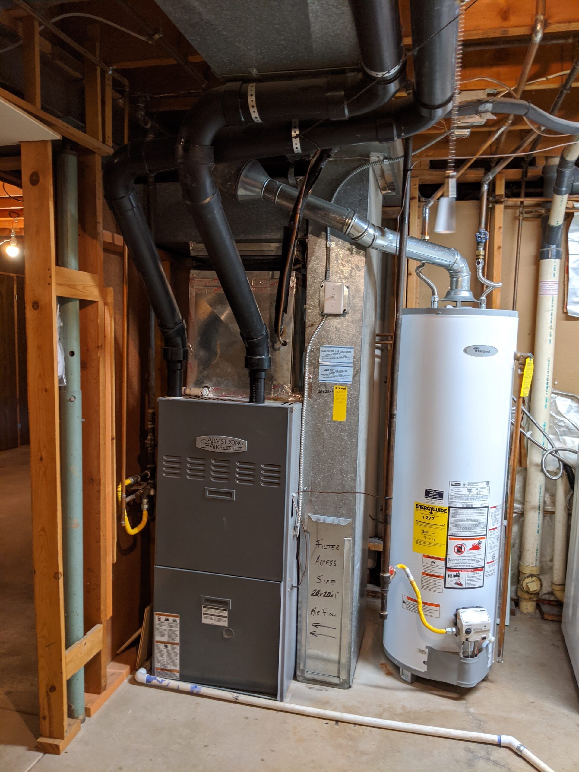 Major appliances, like the furnace and water heater, are inspected to make sure they operate correctly and show signs of being maintained. In addition, an inspector may note potential code or safety violations, such as insufficient venting for gas appliances.