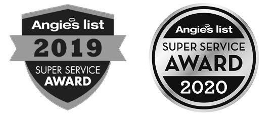 Angie's List Super Service Award Recipient 2019 & 2020